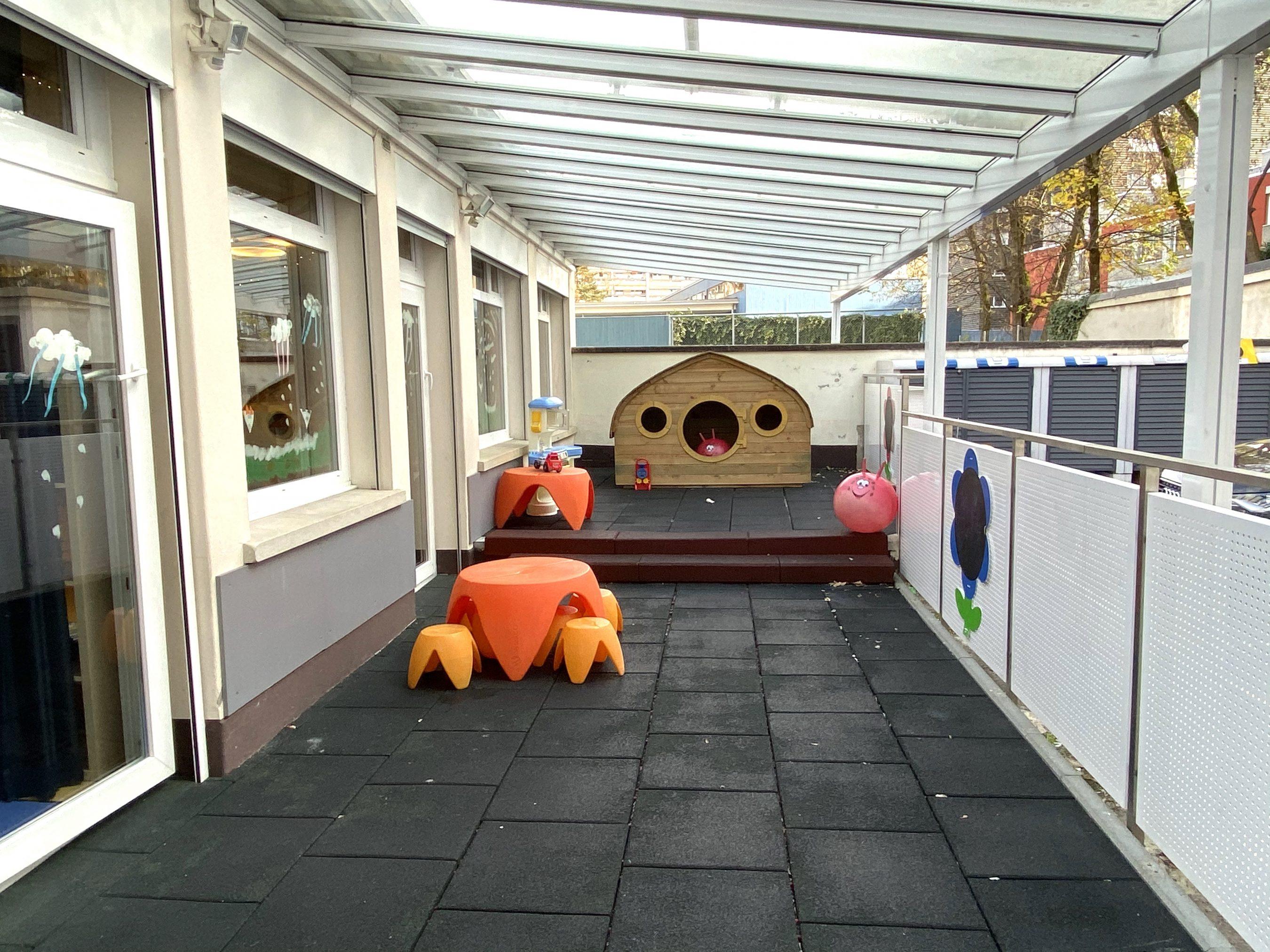 Terrasse abritée Oasis